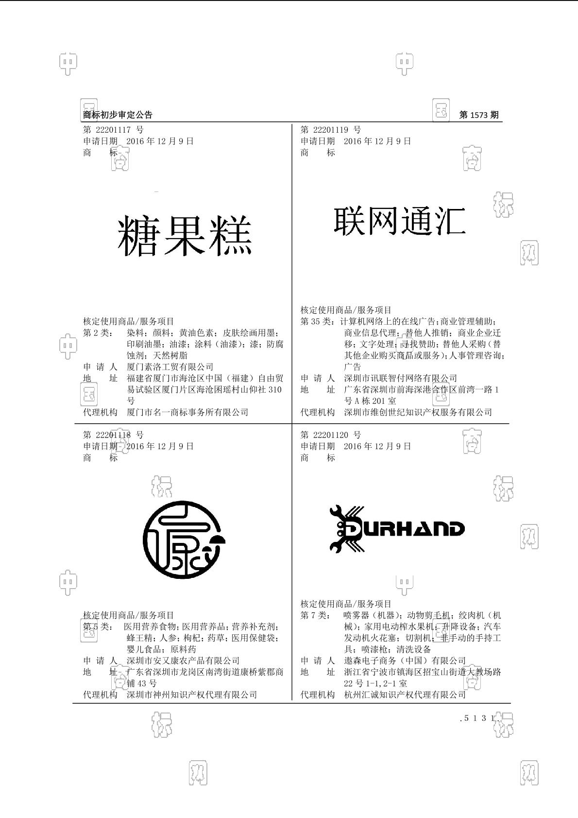 【社标网】糖果糕商标状态注册号信息 厦门素洛工贸有限公司商标信息-商标查询